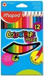 MAPED Color'Peps 12db-os vastag színesceruza