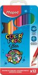 MAPED Color'Peps 12db / 18db / 24db-os színesceruza fém dobozban