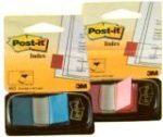 Post-it index jelölőcimke, műanyag tokban 50db