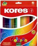 KORES színesceruza 6db / 12db / 24db / 36db