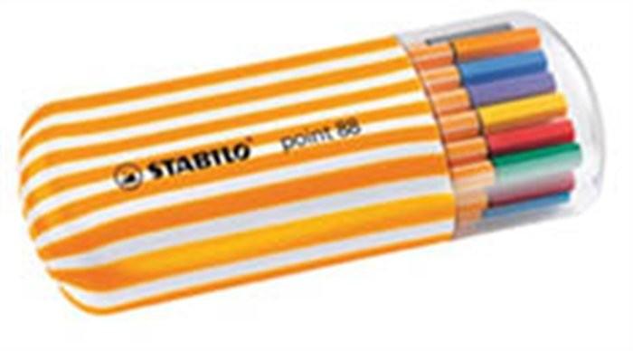 STABILO Point 88 tűfilc készlet 4db / 6db / 10db / 20db